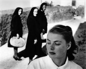 "Ingrid Bergman, ""Stromboli"", Gordon Parks, 1949."