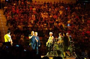 Gli U2 e gli ospiti