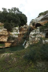 La cascata di Riggio