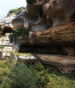 Grotte della gravina di RIggio